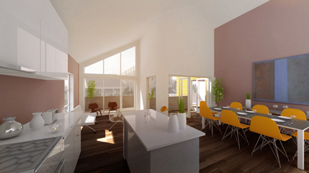 Atelier Hitoshi Abe duplex home to be built in New Orleans for actor Brad Pitt's charity Make it Right