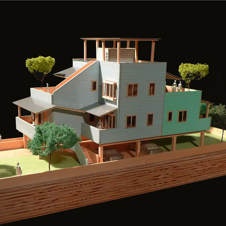 Duplex by Frank Gehry for Make it Right