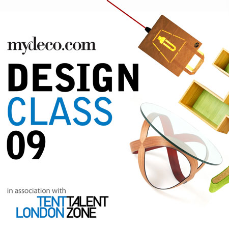 Design Class 09: win free spaces at Tent London's Talent Zone