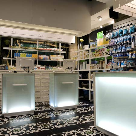 plaza nueva pharmacy by mobil m - Pharmacy Design Ideas