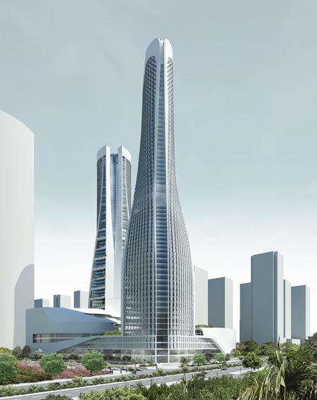 Raffles city hangzhou by unstudio dezeen for Un studio architecture