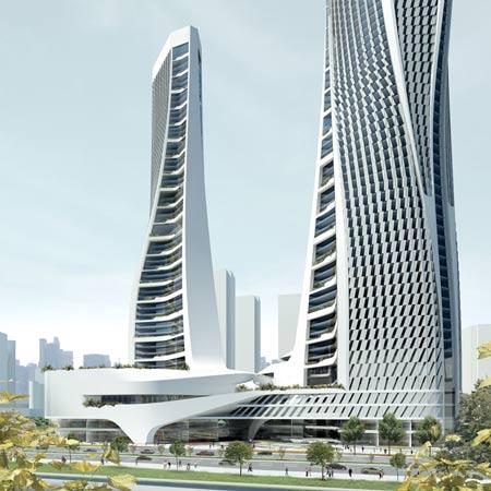 Raffles City Hangzhou by UNStudio