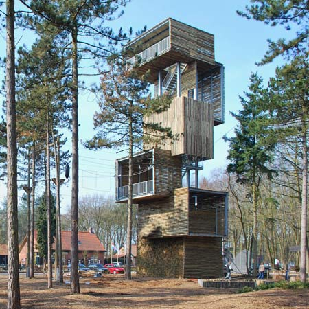 Dezeen » Blog Archive » Viewing Tower by Ateliereen Architecten