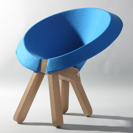 Zaza Chair by Omri Barzeev