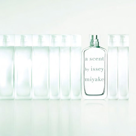 A Scent bottle by Arik Levy for Issey Miyake