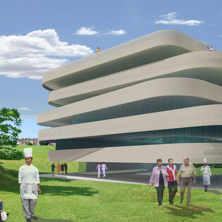 Basque Culinary Centre by Vaumm
