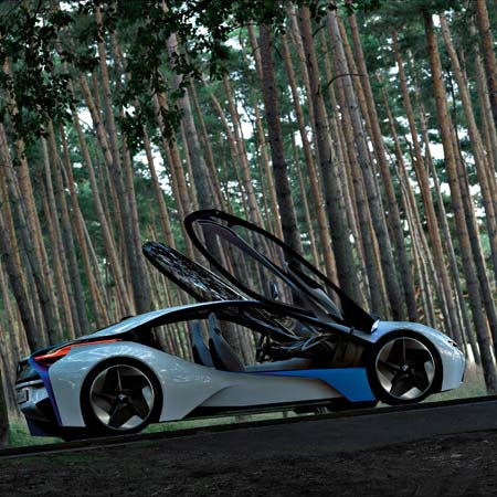 Vision EfficientDynamics by BMW | Dezeen