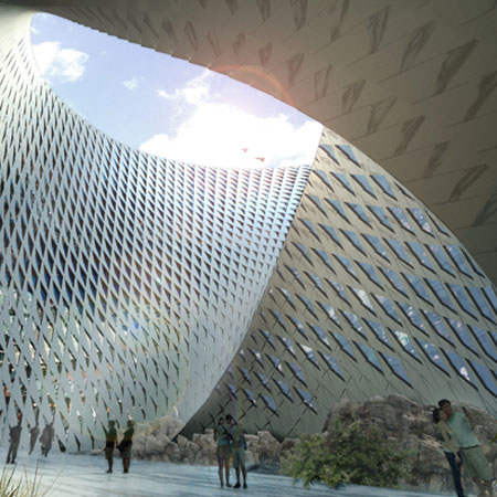 Astana National Library by BIG