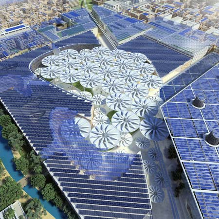 Masdar City Centre by LAVA