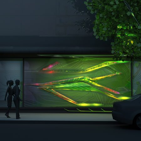 Flower Street BioReactor by Emergent