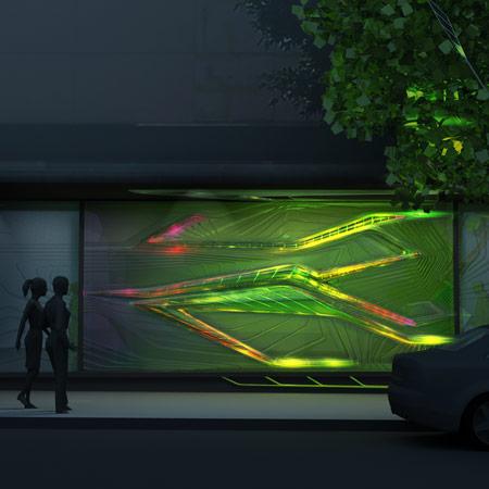 Flower Street BioReactor by Emergent