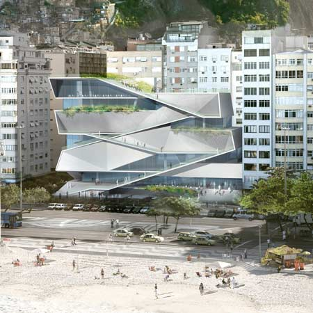 Museum of Image and Sound by Diller Scofidio + Renfro