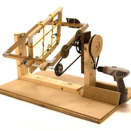 Rotational Moulding DIY Machine by Andrew Duffy, Craig Tyler and Edward Harrison