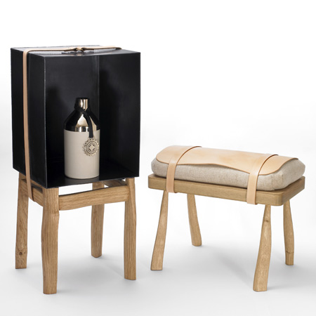 Furniture by Simon Hasan for Vauxhall Collective