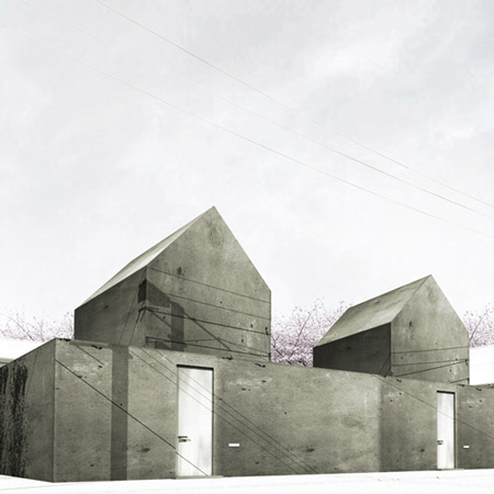 Two houses in Tokyo by Cheungvogl