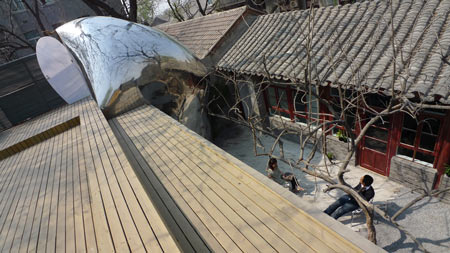 Beijing Hutong Bubble by MAD 15
