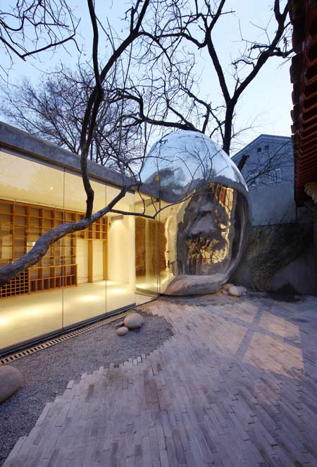 Beijing Hutong Bubble by MAD 21