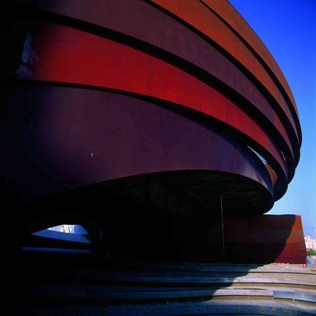 The Design Museum Holon in Israel was Ron Arad Architects' first large-scale commercial project