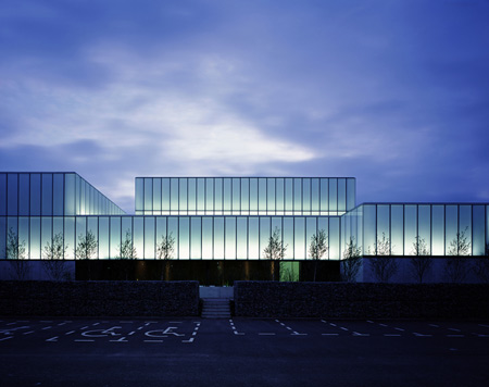 Dezeen » Blog Archive » VISUAL & the George Bernard SHAW THEATRE ...