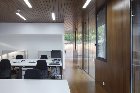 Visa section of Swiss Embassy by EXH Design 14