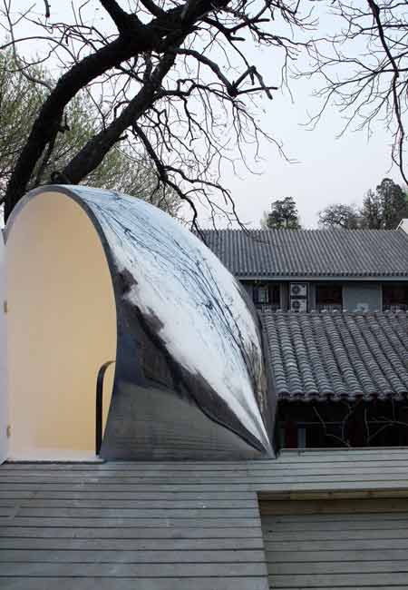 Beijing Hutong Bubble by MAD 14