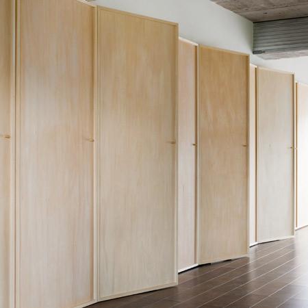 Doors by Hiroyuki Tanaka Architects