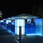 Bombay Sapphire at the London Design Festival: Dusk Bar by Tom Dixon