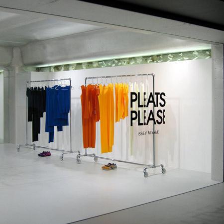 Pleats Please Issey Miyake/Aoyama by Tokujin Yoshioka