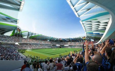 Dalian Football Stadium By Unstudio Dezeen