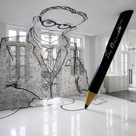 Leo burnett office by ministry of design dezeen for Ad agency office design