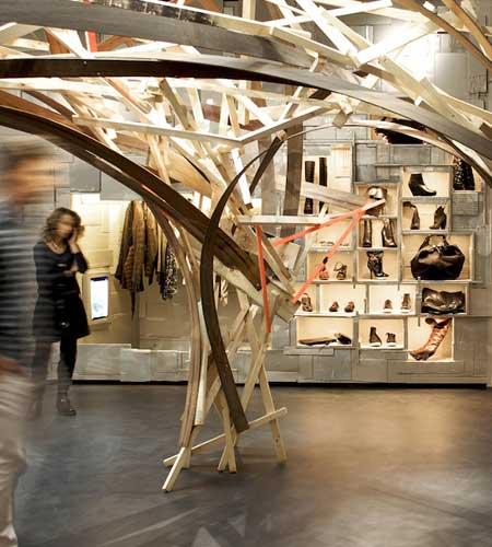 L'Eclaireur Paris store by Arne Quinze 20