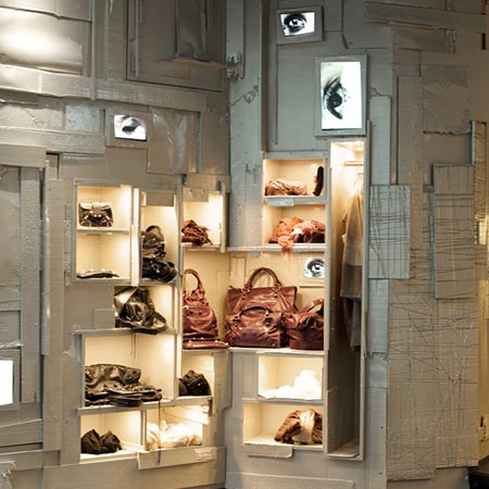 L'Eclaireur Paris store by Studio Arne Quinze