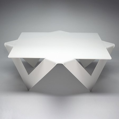 Wonderful British Designer Anthony Leyland Launched A Collection Of Tables Made Of  Folded Steel At Designersblock In London Last Month. Called Manifold ... Design Inspirations