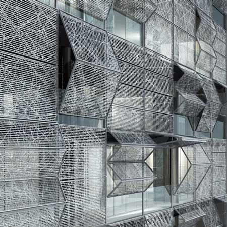 Odcm 201204 inspiration on pinterest facades architects Folding facade