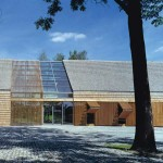 Admin building for Opole Rural Museum by db2 Architekci