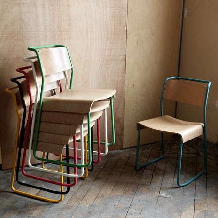 Canteen furniture by Very Good & Proper