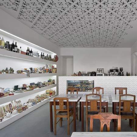 Delicatessen FugasLusas by EXTRASTUDIO Arquitectura