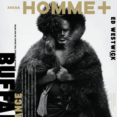 Arena Homme + by Neville Brody