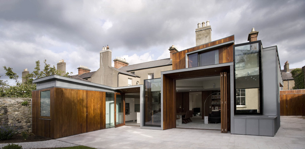 windhover house by ailtireacht architects dezeen