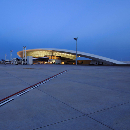 Carrasco International Airport by Rafael Viñoly