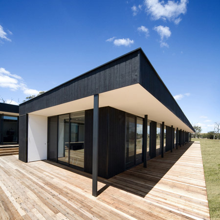 Australian Design Firm Carr Design Group Have Completed A Modular House In  Kilmore, Victoria, Australia.