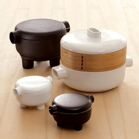 Ding Steamer Set by Office for Product Design