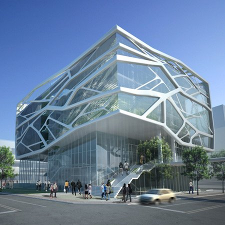 Gimpo Art Hall by G.Lab*