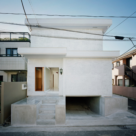 House In Okusawa by Schemata Architecture Office