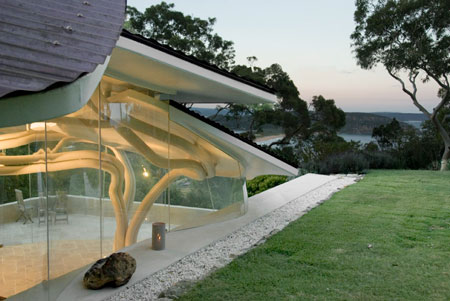 dzn_Leaf House by Undercurrent Architects 06