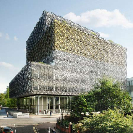 Library of Birmingham by Mecanoo granted planning permission