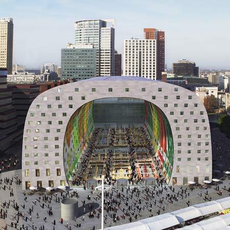 Rotterdam Market Hall by MVRDV