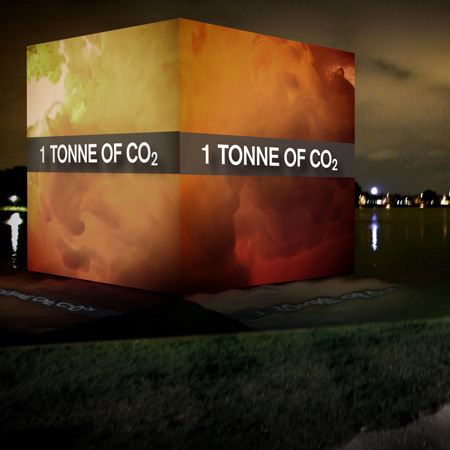 CO2 Cubes by Alfio Bonanno and Christophe Cornubert