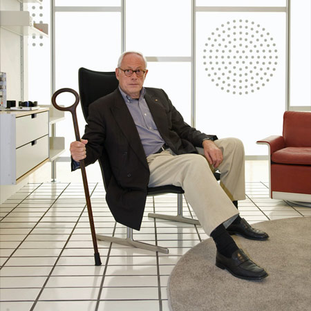 Dezeen podcast: Dieter Rams at the Design Museum