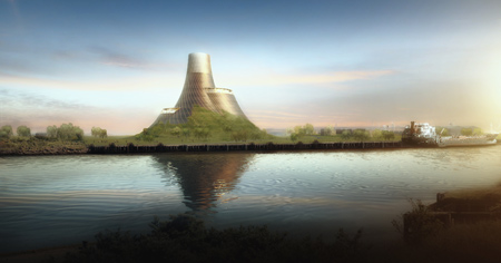 BEI Teeside Power Plant by Heatherwick Studio